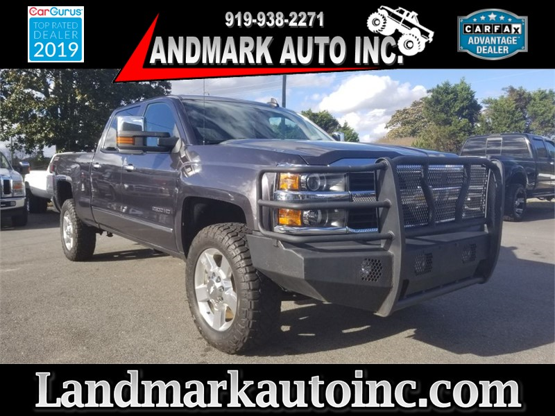 2016 CHEVROLET SILVERADO 2500 HD LTZ CREWCAB SB for sale by dealer