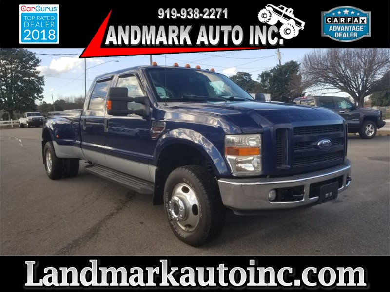 2008 FORD F350 LARIAT SUPER DUTY DRW for sale by dealer
