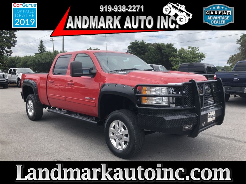 2012 CHEVROLET SILVERADO 2500 HD LTZ CREWCAB 4WD SB for sale by dealer