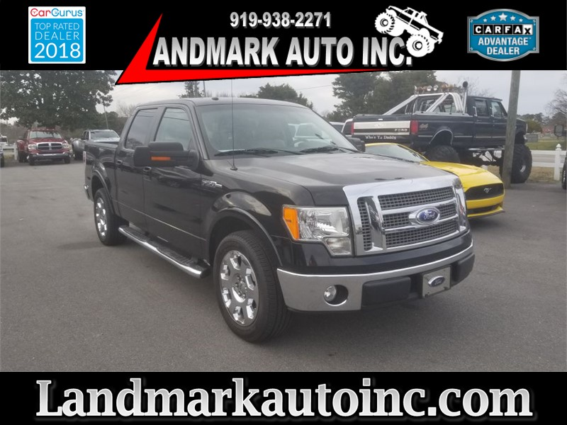 2009 FORD F150 SUPERCREW LARIAT CREWCAB RWD SB for sale by dealer