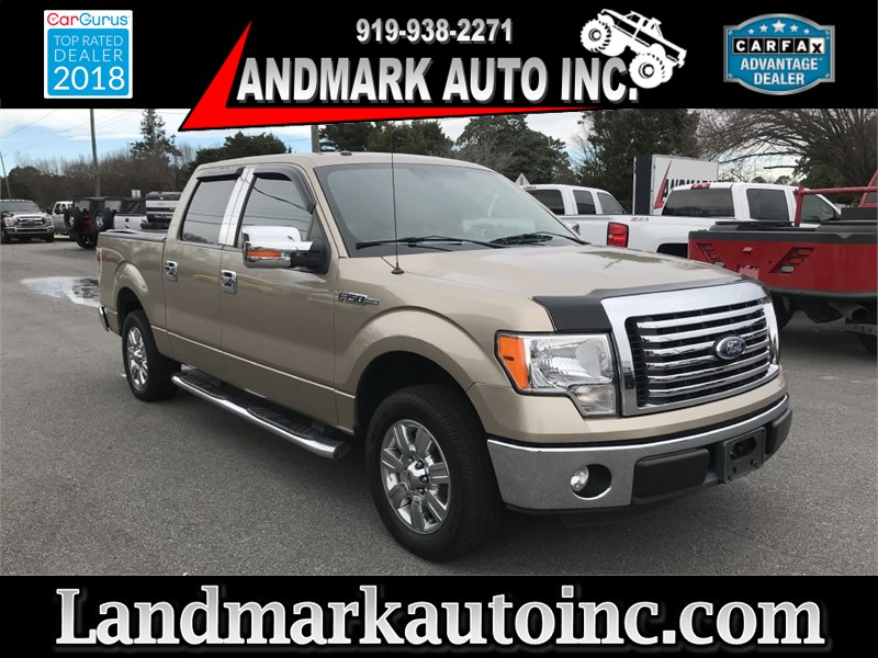 2011 FORD F150 SUPERCREW XLT CREWCAB RWD SB for sale by dealer