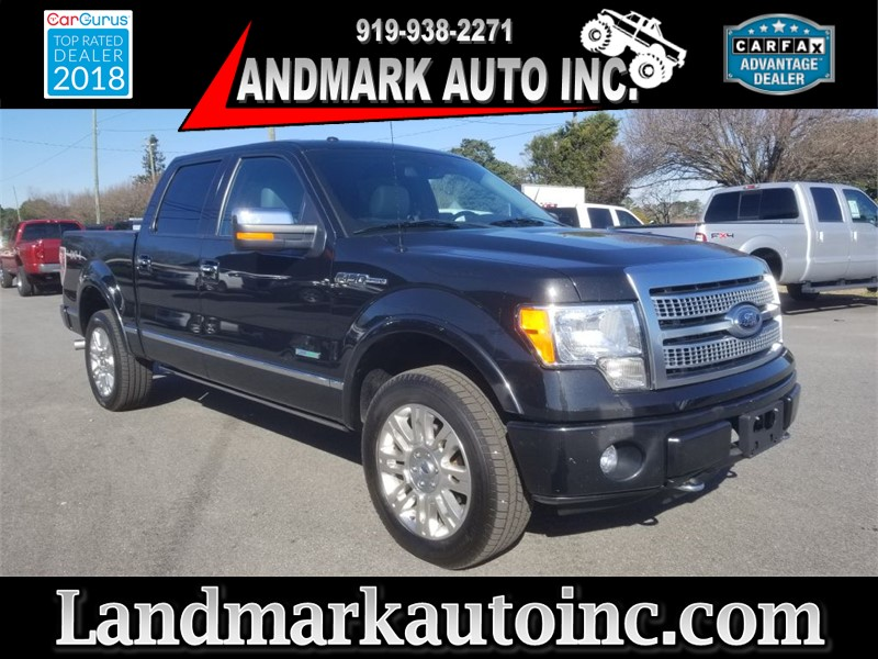 2012 FORD F150 SUPERCREW PLATINUM CREWCAB 4WD SB for sale by dealer