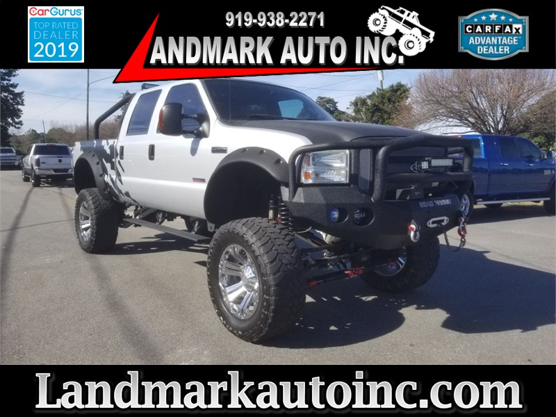 2006 FORD F250 SUPER DUTY Lariat Crew Cab SB 4WD for sale by dealer