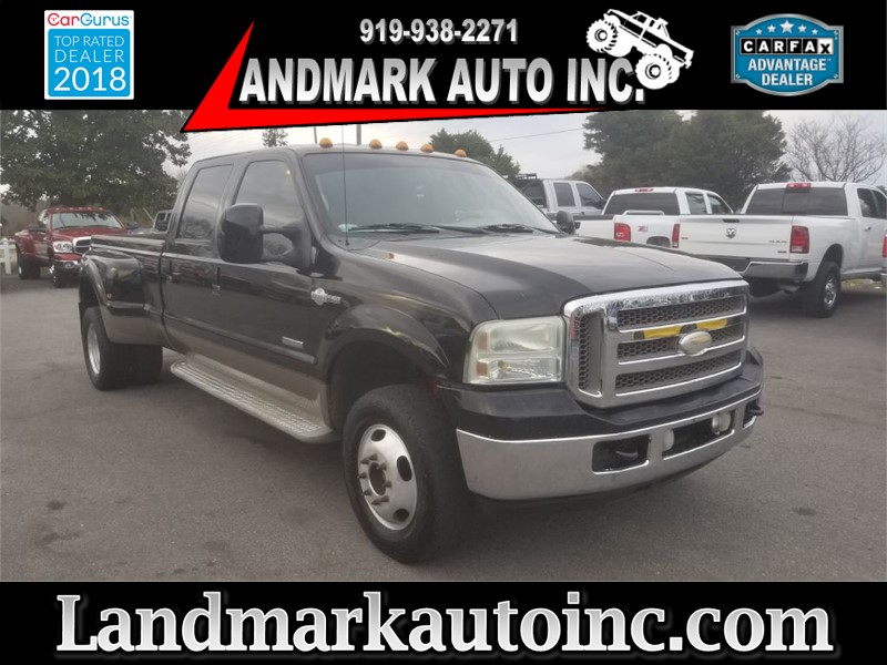 2006 FORD F350 DRW SD KING RANCH CREWCAB 4WD LB Smithfield NC