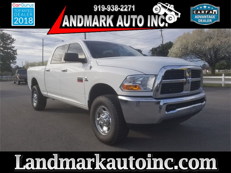 2012 DODGE RAM 2500 SLT CREWCAB 4WD for sale by dealer