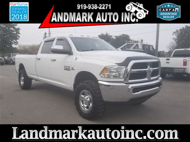 2013 DODGE RAM 2500 SLT CREWCAB 4WD for sale by dealer