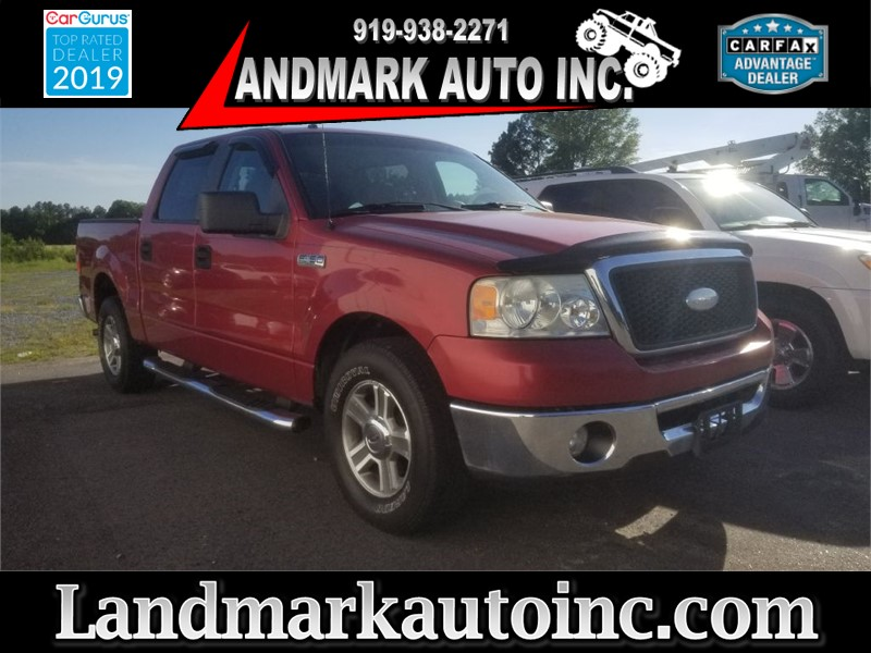2007 FORD F150 SUPERCREW Smithfield NC