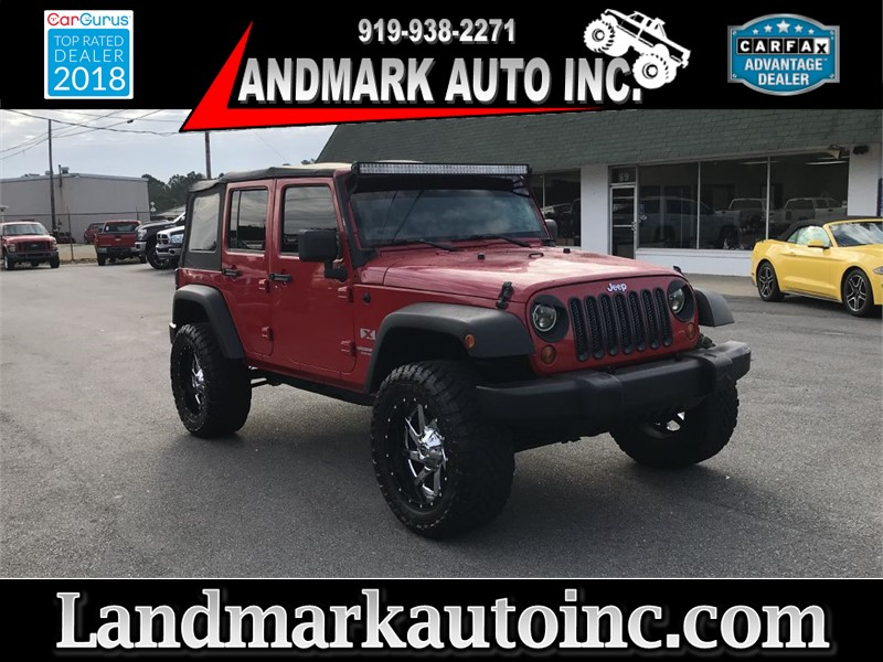 2008 JEEP WRANGLER UNLIMI X 4WD for sale by dealer