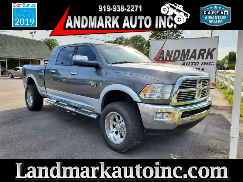 2012 DODGE RAM 2500 Laramie MegaCab 4WD for sale by dealer