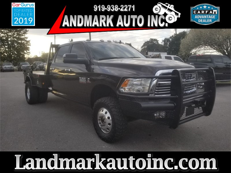 2016 RAM 3500 Big Horn Crew Cab LB DRW 4WD for sale by dealer