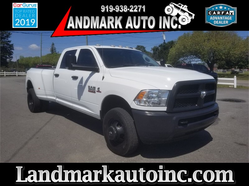 2015 RAM 3500 ST Crew Cab LB DRW 4WD for sale by dealer