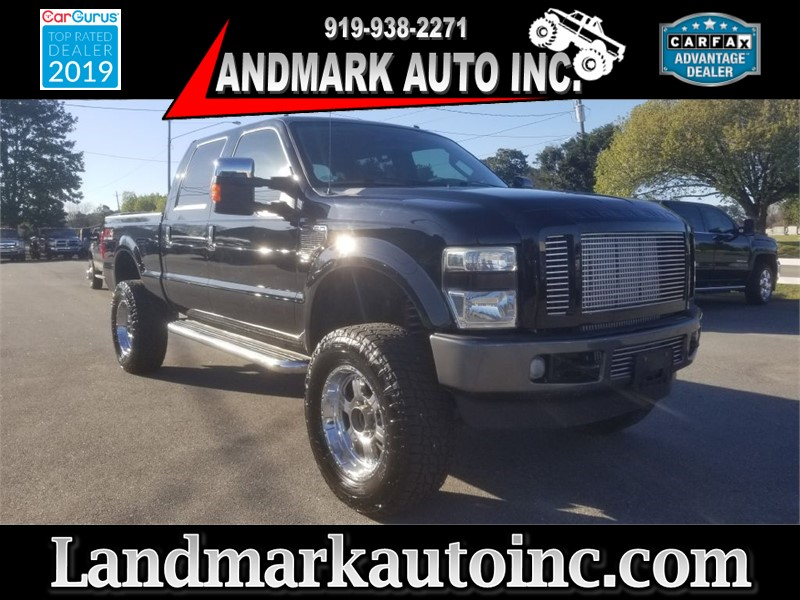 2008 FORD F250 SUPER DUTY FX4 Crew Cab SB 4WD for sale by dealer