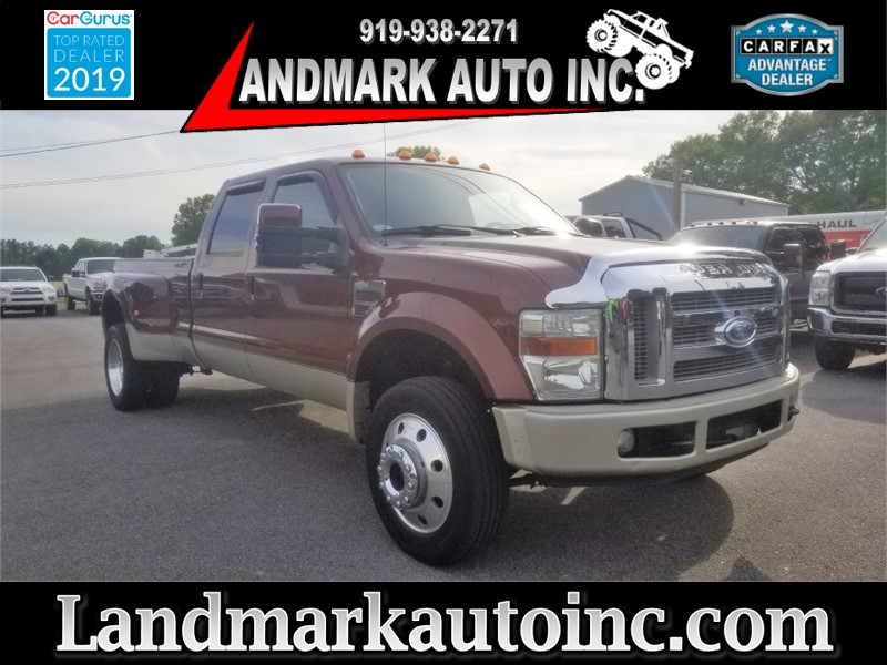 2008 FORD F450 SUPER DUTY King Ranch Crew Cab LB DRW 4WD Smithfield NC