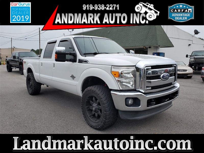 2012 FORD F250 SUPER DUTY Lariat Crew Cab SB 4WD for sale by dealer