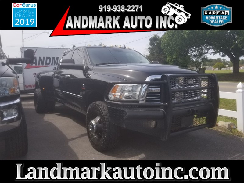 2014 RAM 3500 SLT CrewCab LB DRW 4WD for sale by dealer