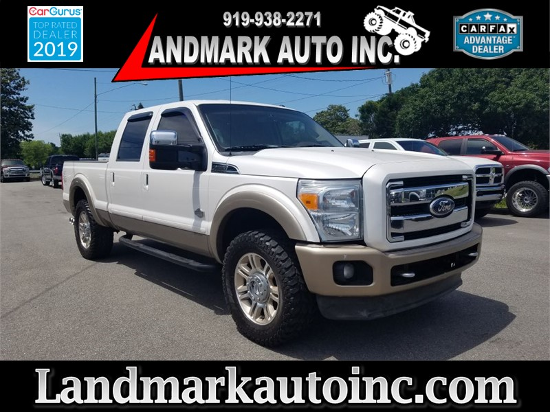 2011 FORD F250 KING RANCH SUPER DUTY CREW CAB Smithfield NC