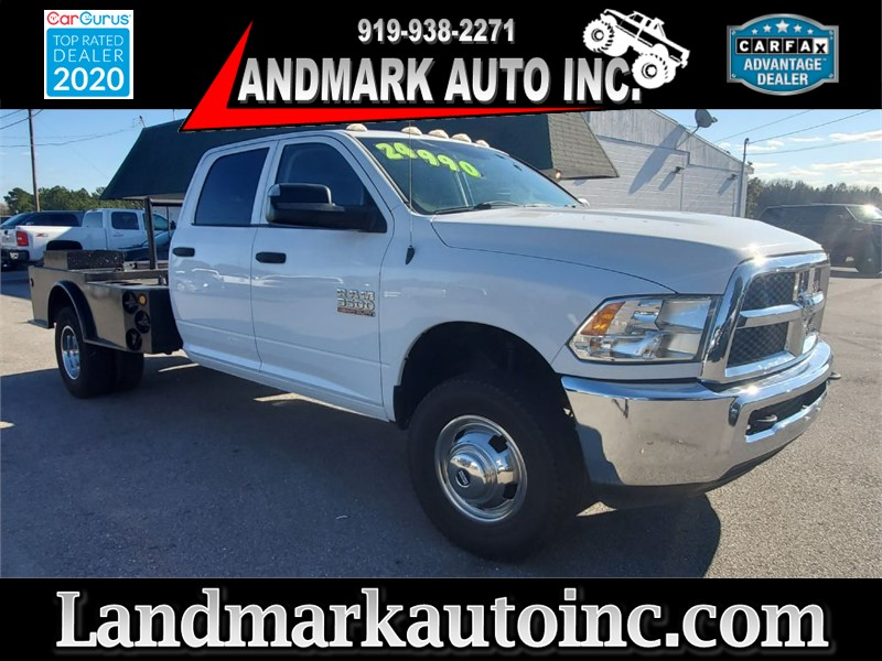 2015 DODGE RAM 3500 HD CREW TRADESMAN LB DRW 4WD for sale by dealer