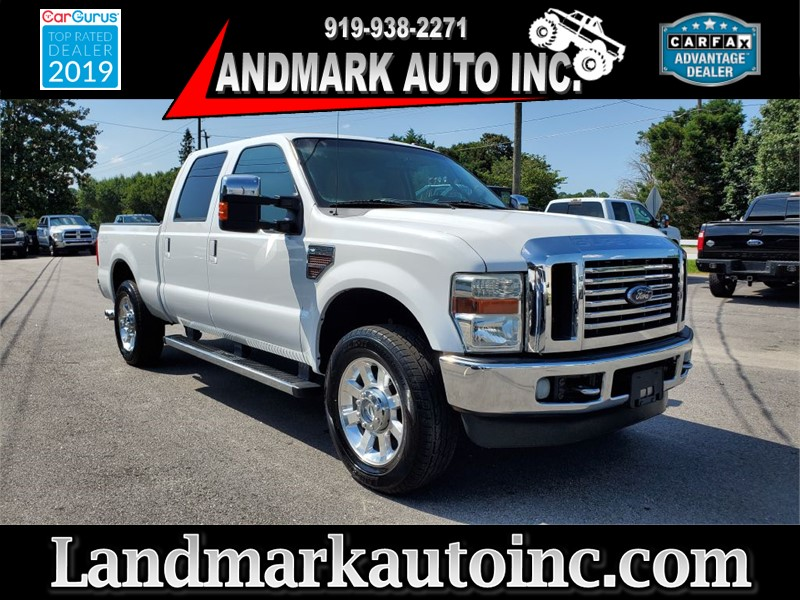 2010 FORD F250 SUPER DUTY LARIAT CREW CAB SB 4WD for sale by dealer