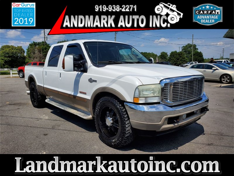 2004 FORD F250 SUPER DUTY KING RANCH CREW CAB SB 2WD for sale by dealer