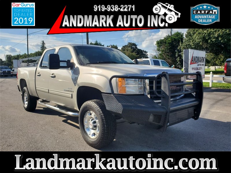 2008 GMC SIERRA 2500 HEAVY DUTY CREW SB SRW 4WD for sale by dealer