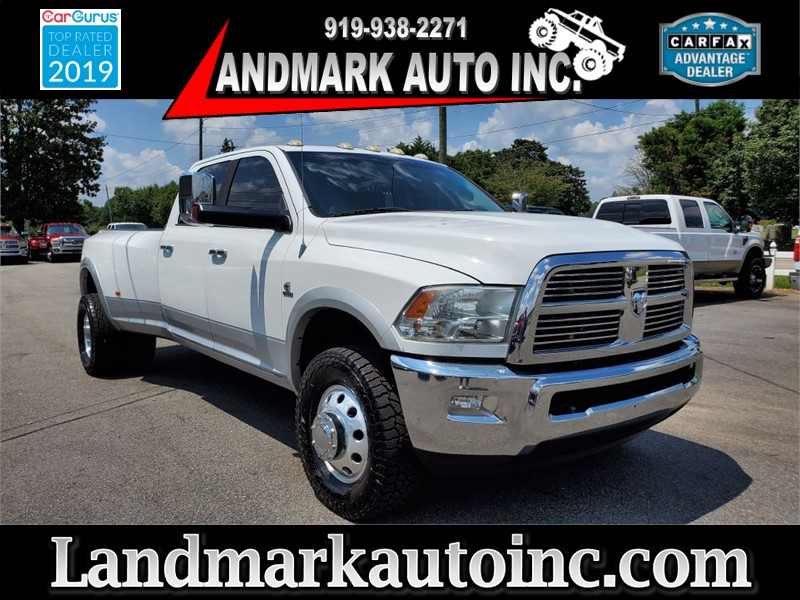 2012 DODGE RAM 3500 LARAMIE CREW CAB LB DRW 4WD for sale by dealer