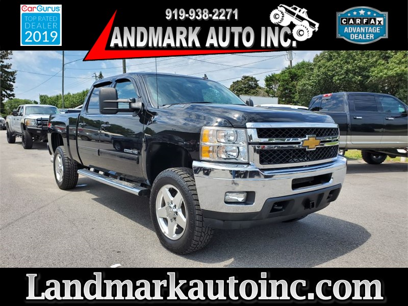 2013 CHEVROLET SILVERADO 2500 HEAVY DUTY LTZ CREW CAB SB 4WD for sale by dealer
