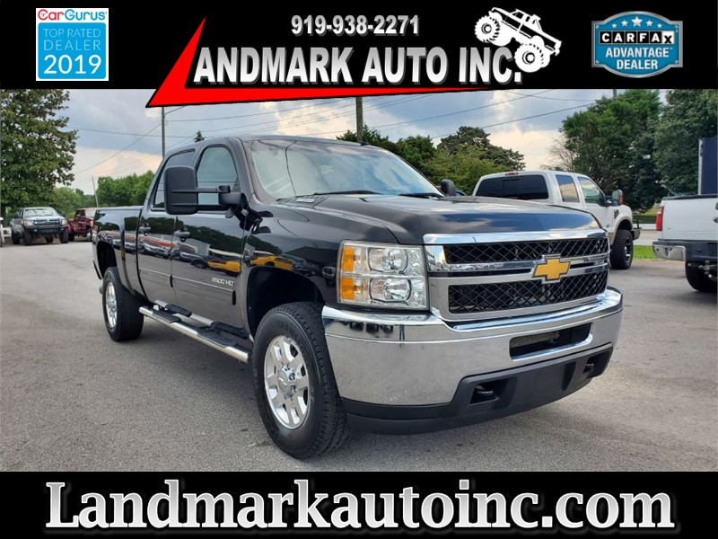 2014 CHEVROLET SILVERADO 2500 HEAVY DUTY LT CREW CAB SB 4WD for sale by dealer