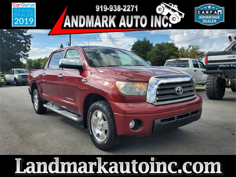 2007 TOYOTA TUNDRA LIMITED CREWMAX SB 4WD for sale by dealer