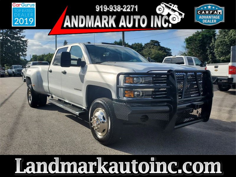 2015 CHEVROLET SILVERADO 3500 HEAVY DUTY LT CREW CAB LB DRW for sale by dealer