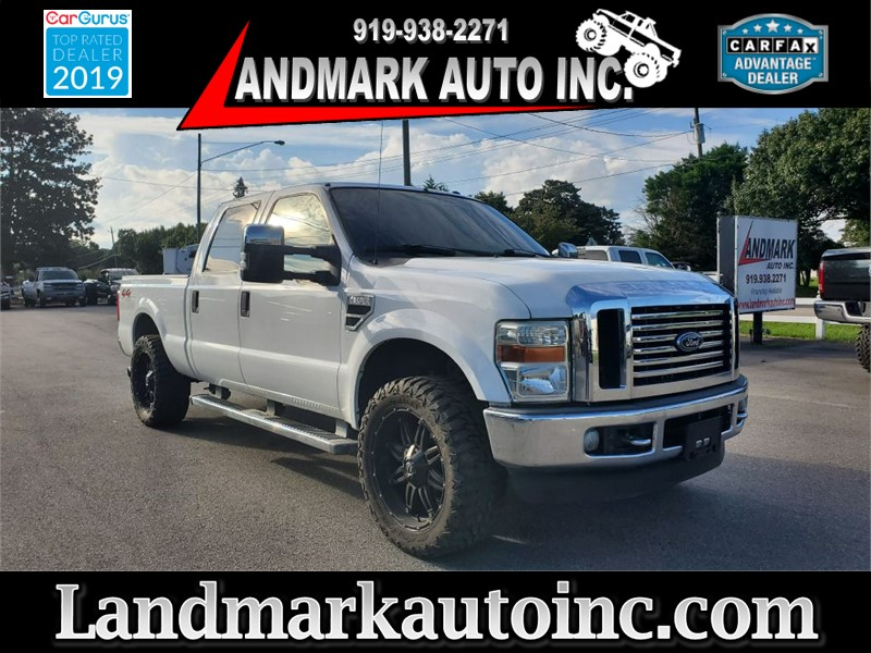 2009 FORD F250 SUPER DUTY LARIAT CREW CAB SB 4WD for sale by dealer