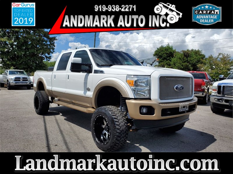 2011 FORD F350 SUPER DUTY KING RANCH CREW CAB SB SRW 4WD for sale by dealer