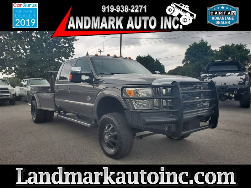 2013 FORD F350 SUPER DUTY LARIAT CREW CAB LB DRW 4WD for sale by dealer