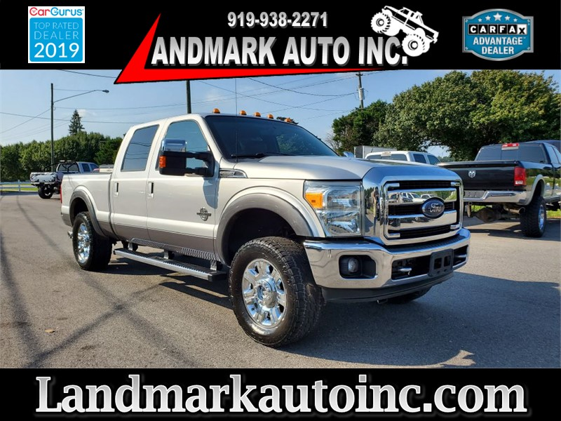 2014 FORD F250 SUPER DUTY LARIAT CREW CAB SB 4WD for sale by dealer