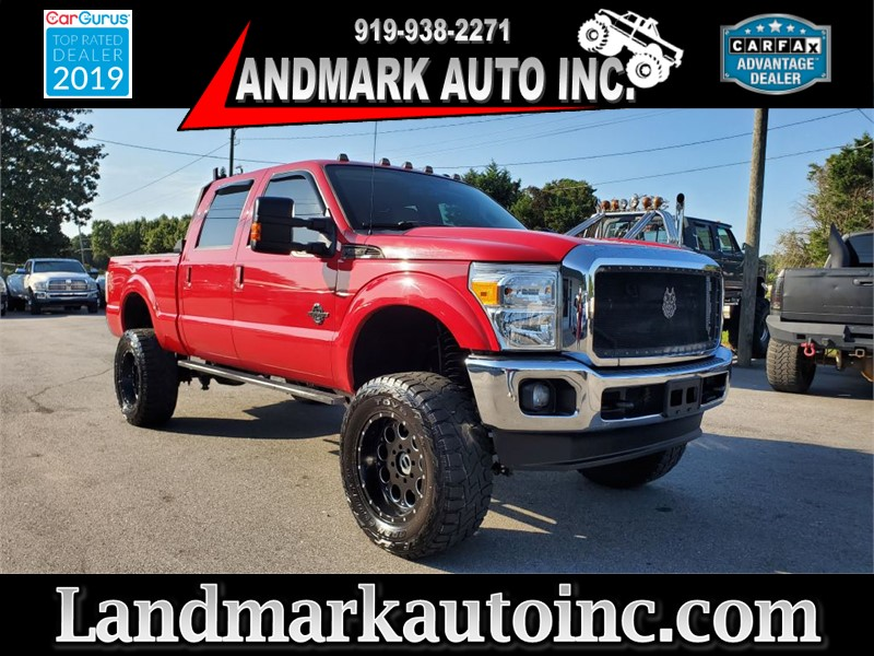 2012 FORD F350 SUPER DUTY LARIAT CREW CAB SB SRW 4WD for sale by dealer