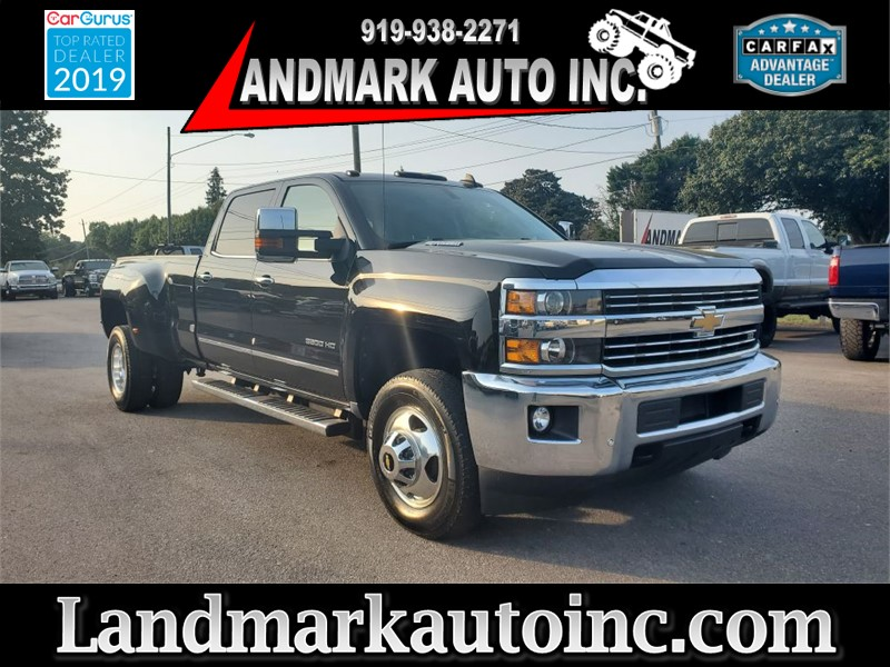 2015 CHEVROLET SILVERADO 3500 HD LTZ CREW CAB LB DRW 4WD for sale by dealer