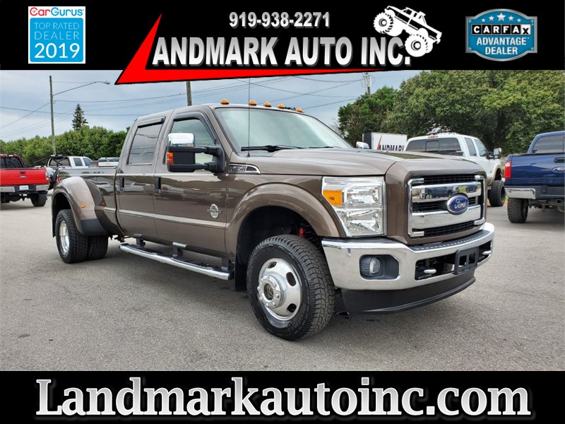 2015 FORD F350 SUPER DUTY LARIAT CREW CAB LB DRW 4WD for sale by dealer