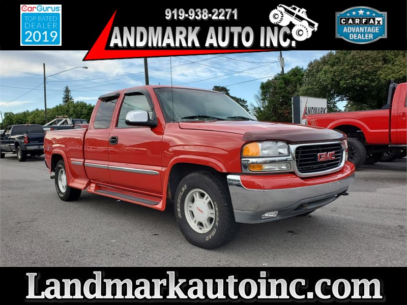 1999 GMC SIERRA 1500 SLE EXTENDED CAB SB 4WD for sale by dealer