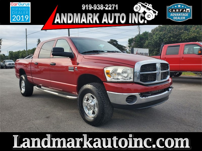 2007 DODGE RAM 2500 SLT MEGA CAB SB 4WD for sale by dealer