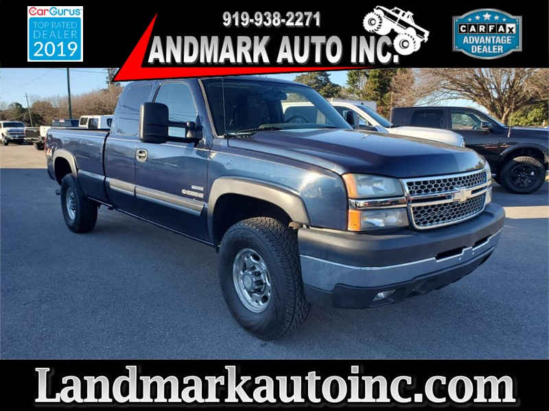 2007 CHEVROLET SILVERADO 2500 HEAVY DUTY LT CREW CAB LB 4WD for sale by dealer
