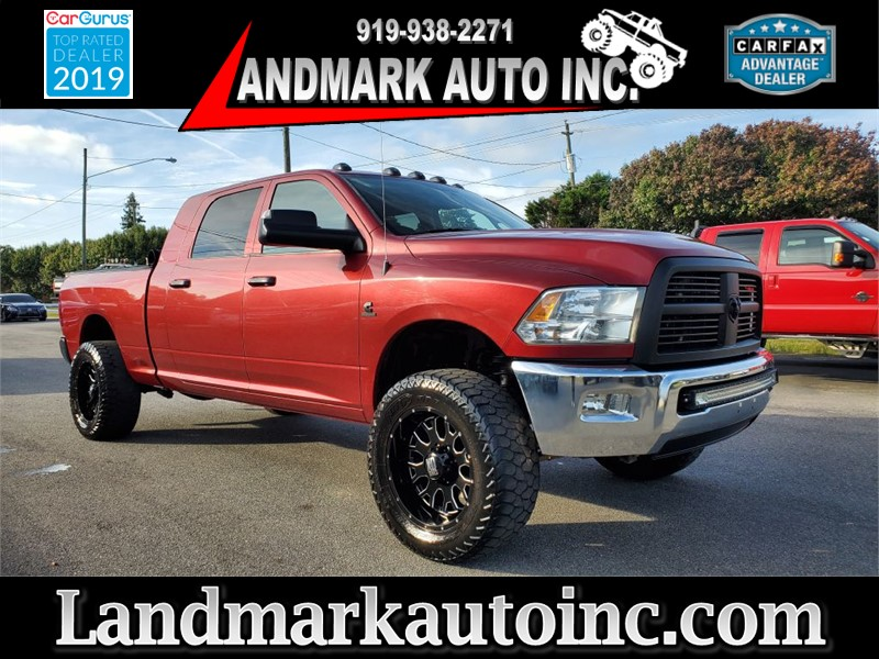 2012 DODGE RAM 2500 SLT MEGA CAB SB 4WD for sale by dealer