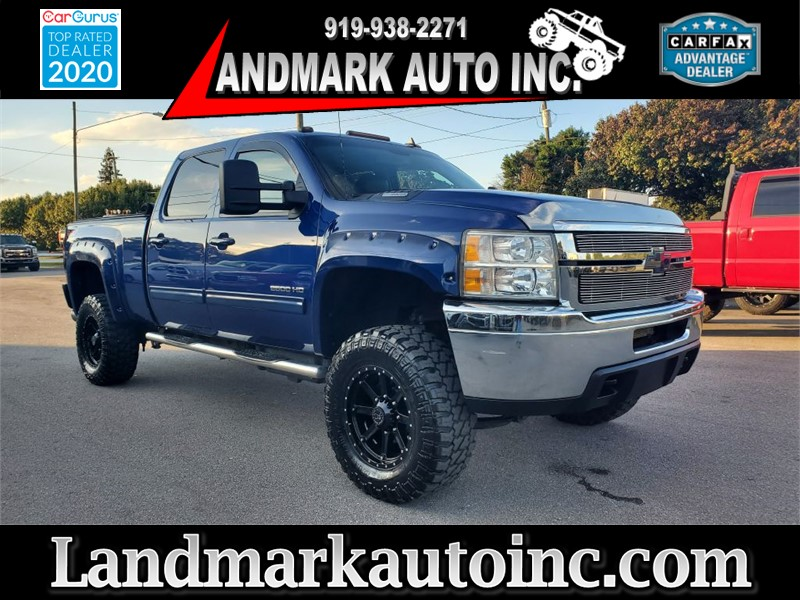 2014 CHEVROLET SILVERADO 2500 HEAVY DUTY LTZ CREW SB SRW 4WD for sale by dealer