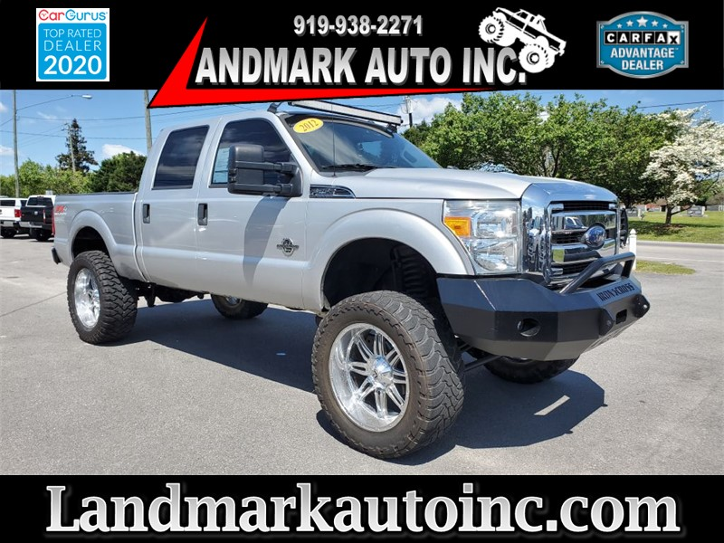 2012 FORD F250 XLT SUPER DUTY CREW CAB SB SRW 4WD for sale by dealer