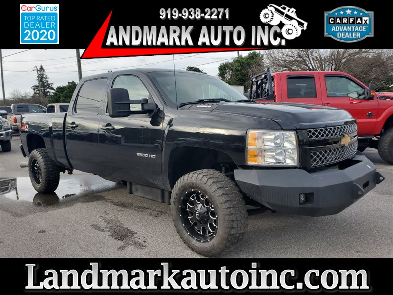 2012 CHEVROLET SILVERADO 2500 HEAVY DUTY LTZ CREW CAB SB SRW for sale by dealer