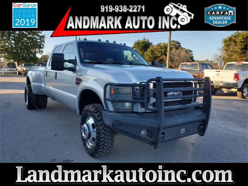 2008 FORD F350 SUPER DUTY CREW CAB LB DRW 4WD for sale by dealer