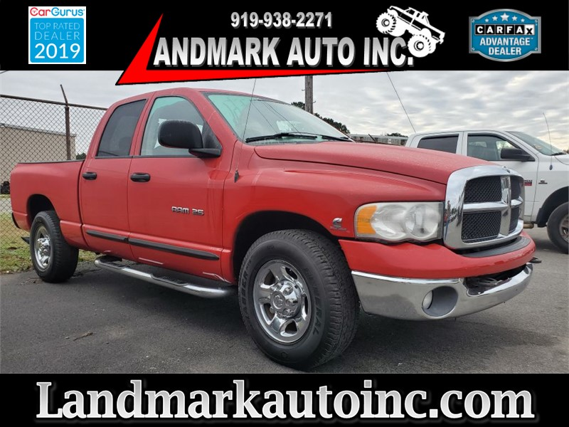 2005 DODGE RAM 2500 ST CREW CAB SB SRW RWD for sale by dealer