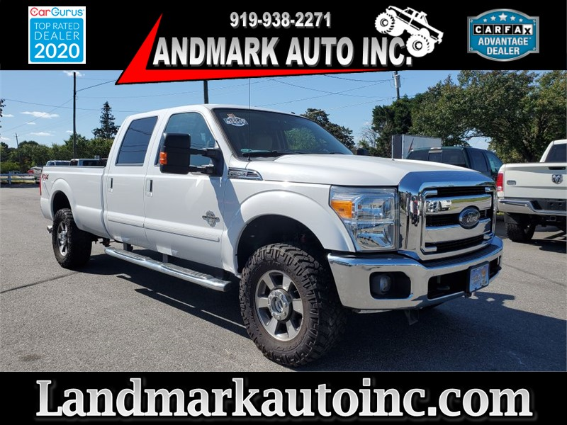 2015 FORD F350 SUPER DUTY LARIAT CREW CAB SB SRW 4WD for sale by dealer