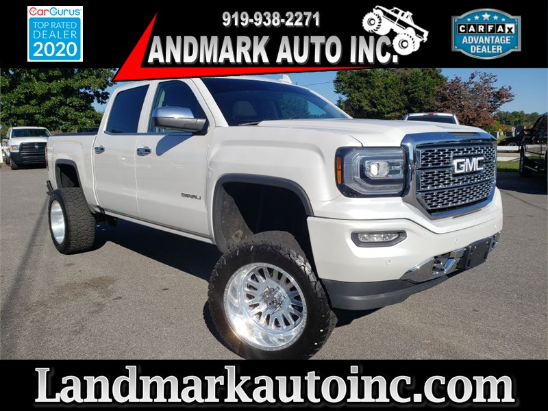 2016 GMC SIERRA 1500 DENALI for sale by dealer
