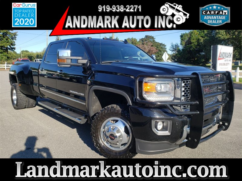 2015 GMC SIERRA 3500 DENALI for sale by dealer