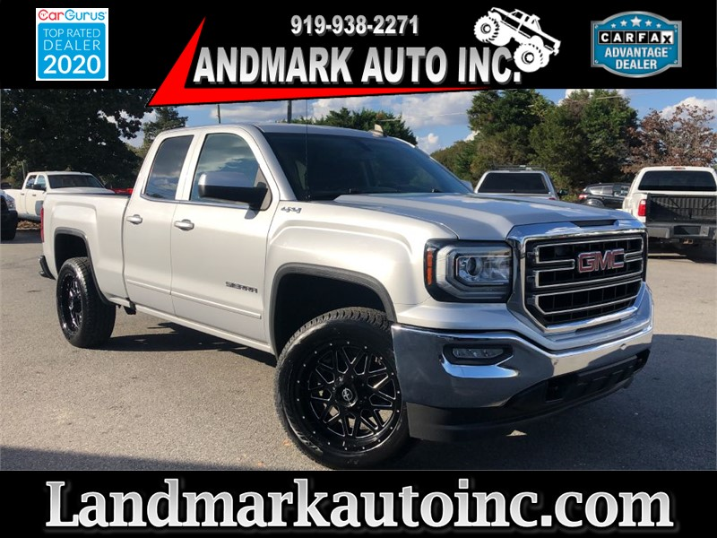 2016 GMC SIERRA 1500 SLE for sale by dealer