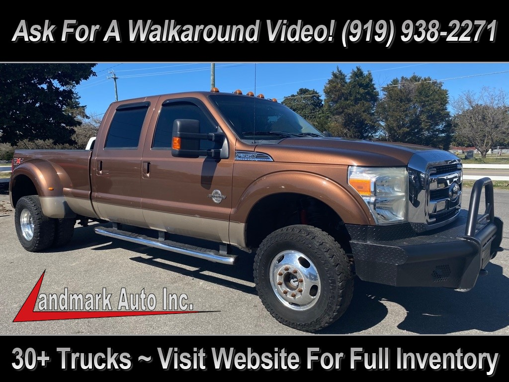 2011 FORD F350 Lariat Crew Cab LB DRW 4WD for sale by dealer